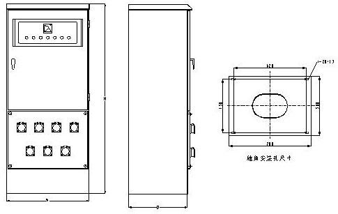 外形示意图   图1:   图2   本公司检修电源箱设计了多种电路